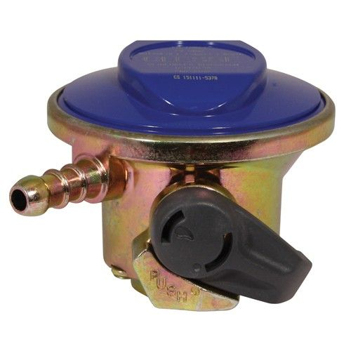 Clip On Compact Low Pressure Butane Gas Regulator 21mm