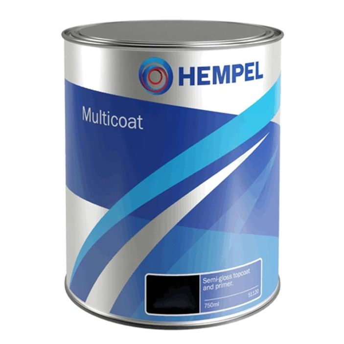 Hempel Multicoat Semi Gloss Enamel Topcoat  750ml