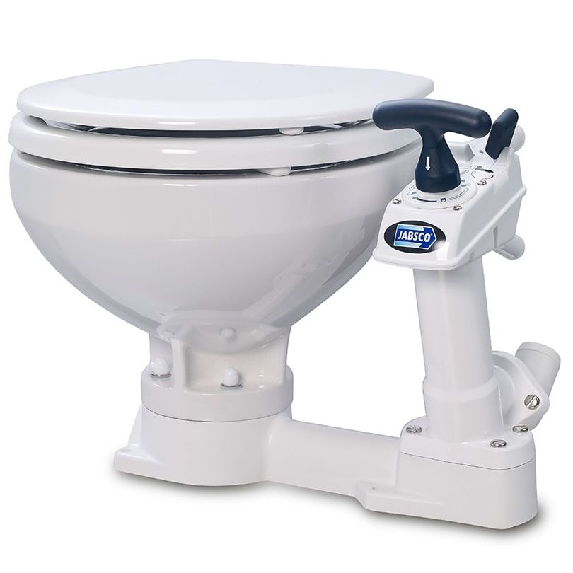 Jabsco Manual 'Twist n' Lock' Marine Boat Toilet