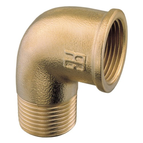 Male to Female Brass Elbow BSP