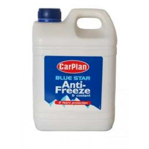 CarPlan Blue Star Anti-Freeze and Coolant - 2 Litres