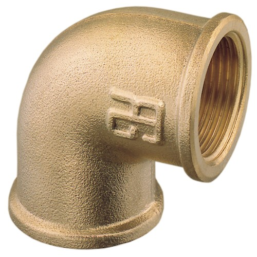 Female to Female Brass Elbow BSP