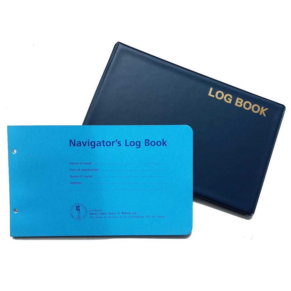 Imray Navigator S Logbook Set Pvc Cover And 50 Page