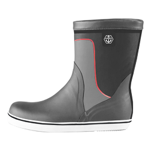 Maindeck Grey Short Rubber Boot