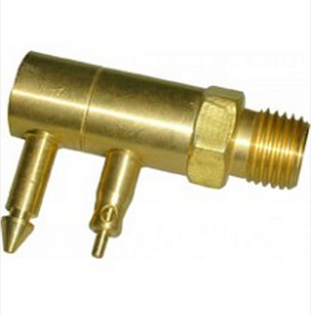 "Waveline Johnson / Evenrude / OMC Male Quick Connect Tank Fitting - 1/4"" NPT Threads"